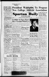 Spartan Daily, May 3, 1954 by San Jose State University, School of Journalism and Mass Communications