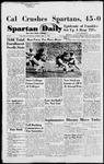 Spartan Daily, September 27, 1954 by San Jose State University, School of Journalism and Mass Communications