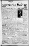 Spartan Daily, October 5, 1954 by San Jose State University, School of Journalism and Mass Communications