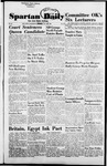 Spartan Daily, October 20, 1954 by San Jose State University, School of Journalism and Mass Communications