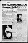Spartan Daily, October 27, 1954 by San Jose State University, School of Journalism and Mass Communications