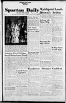 Spartan Daily, October 29, 1954 by San Jose State University, School of Journalism and Mass Communications