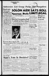 Spartan Daily, November 1, 1954 by San Jose State University, School of Journalism and Mass Communications