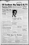 Spartan Daily, November 2, 1954 by San Jose State University, School of Journalism and Mass Communications