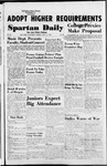 Spartan Daily, November 16, 1954 by San Jose State University, School of Journalism and Mass Communications