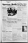 Spartan Daily, November 17, 1954 by San Jose State University, School of Journalism and Mass Communications