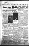 Spartan Daily, January 11, 1955 by San Jose State University, School of Journalism and Mass Communications