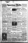 Spartan Daily, January 18, 1955 by San Jose State University, School of Journalism and Mass Communications