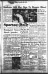 Spartan Daily, January 24, 1955 by San Jose State University, School of Journalism and Mass Communications