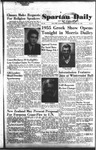Spartan Daily, January 27, 1955 by San Jose State University, School of Journalism and Mass Communications