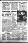 Spartan Daily, February 21, 1955 by San Jose State University, School of Journalism and Mass Communications