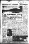 Spartan Daily, February 24, 1955 by San Jose State University, School of Journalism and Mass Communications