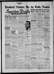 Spartan Daily, May 3, 1956 by San Jose State University, School of Journalism and Mass Communications