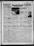 Spartan Daily, June 1, 1956 by San Jose State University, School of Journalism and Mass Communications