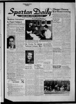 Spartan Daily, October 1, 1956 by San Jose State University, School of Journalism and Mass Communications
