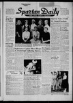 Spartan Daily, October 22, 1956 by San Jose State University, School of Journalism and Mass Communications