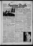 Spartan Daily, October 23, 1956 by San Jose State University, School of Journalism and Mass Communications