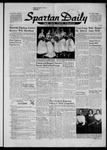 Spartan Daily, October 29, 1956 by San Jose State University, School of Journalism and Mass Communications