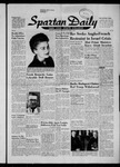 Spartan Daily, October 31, 1956 by San Jose State University, School of Journalism and Mass Communications