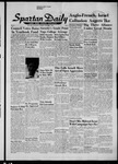 Spartan Daily, November 1, 1956 by San Jose State University, School of Journalism and Mass Communications