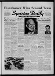 Spartan Daily, November 7, 1956 by San Jose State University, School of Journalism and Mass Communications