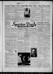 Spartan Daily, November 19, 1956 by San Jose State University, School of Journalism and Mass Communications