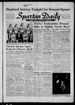 Spartan Daily, November 30, 1956 by San Jose State University, School of Journalism and Mass Communications