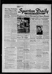 Spartan Daily, January 7, 1957 by San Jose State University, School of Journalism and Mass Communications