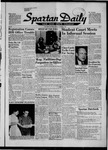 Spartan Daily, October 1, 1957 by San Jose State University, School of Journalism and Mass Communications