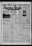 Spartan Daily, October 4, 1957 by San Jose State University, School of Journalism and Mass Communications