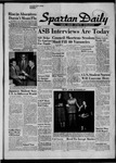 Spartan Daily, October 9, 1957 by San Jose State University, School of Journalism and Mass Communications
