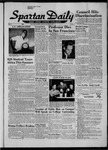 Spartan Daily, October 14, 1957 by San Jose State University, School of Journalism and Mass Communications