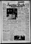 Spartan Daily, October 18, 1957 by San Jose State University, School of Journalism and Mass Communications
