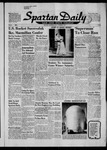 Spartan Daily, October 25, 1957 by San Jose State University, School of Journalism and Mass Communications