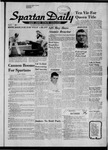 Spartan Daily, October 28, 1957 by San Jose State University, School of Journalism and Mass Communications