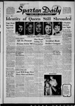 Spartan Daily, November 1, 1957 by San Jose State University, School of Journalism and Mass Communications