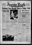 Spartan Daily, November 27, 1957 by San Jose State University, School of Journalism and Mass Communications