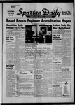 Spartan Daily, March 10, 1958 by San Jose State University, School of Journalism and Mass Communications