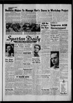 Spartan Daily, April 30, 1958 by San Jose State University, School of Journalism and Mass Communications