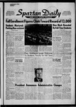Spartan Daily, September 22, 1958 by San Jose State University, School of Journalism and Mass Communications