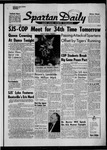 Spartan Daily, November 7, 1958 by San Jose State University, School of Journalism and Mass Communications
