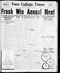 State College Times, October 14, 1931 by San Jose State University, School of Journalism and Mass Communications