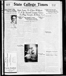 State College Times, November 3, 1931 by San Jose State University, School of Journalism and Mass Communications
