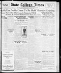 State College Times, November 17, 1931 by San Jose State University, School of Journalism and Mass Communications