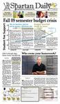 Spartan Daily August 24, 2009