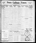 State College Times, November 25, 1931 by San Jose State University, School of Journalism and Mass Communications