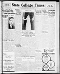 State College Times, December 4, 1931 by San Jose State University, School of Journalism and Mass Communications