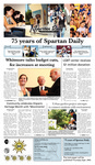 Spartan Daily September 21, 2009