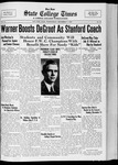 State College Times, December 7, 1932 by San Jose State University, School of Journalism and Mass Communications