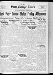 State College Times, December 8, 1932 by San Jose State University, School of Journalism and Mass Communications